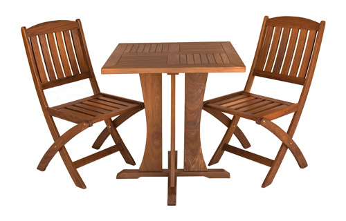 Square Cafe Table And Clic Side Chair Set